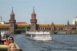 <p>Travel by boat on the river Spree</p>